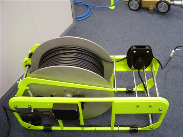 300m Cable drum.